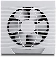 YGB Staande ventilator, afvoerventilator, ventilator, White Square wandafzuigventilator, krachtige ventilator voor thuis