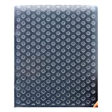 Kwan Crafts Dots Plastic Embossing Folders for Card Making Scrapbooking and Other Paper Crafts, 12.1x15.2cm