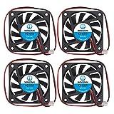 WINSINN 6010 12V DC Cooling Fan 60mm 60x60x10mm for DIY PC Computer Case