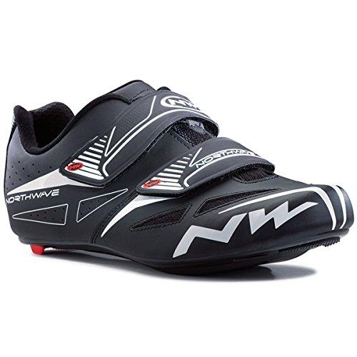Northwave Jet Evo, scarpe per bici da corsa, nere 2018, bianco, 38