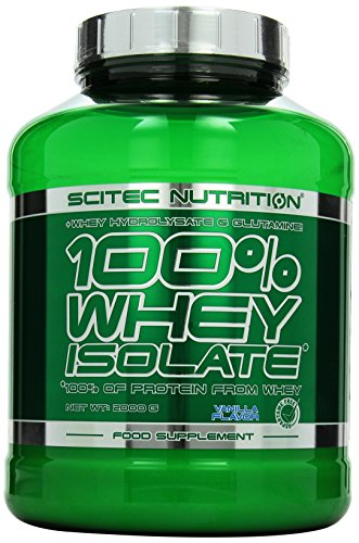 Scitec Nutrition Protein Whey Isolate, Vanille, 2000g