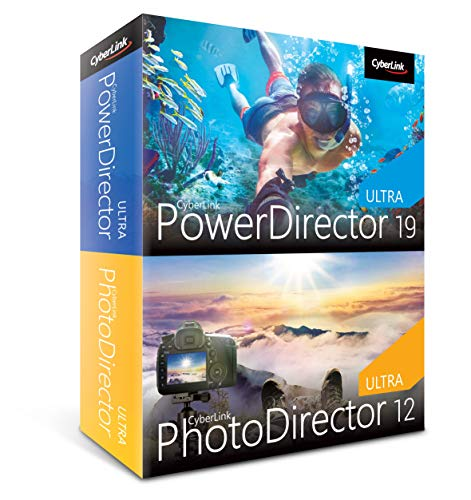 CyberLink PowerDirector 19 Ultra & PhotoDirector 12 Ultra Duo (64-Bit)