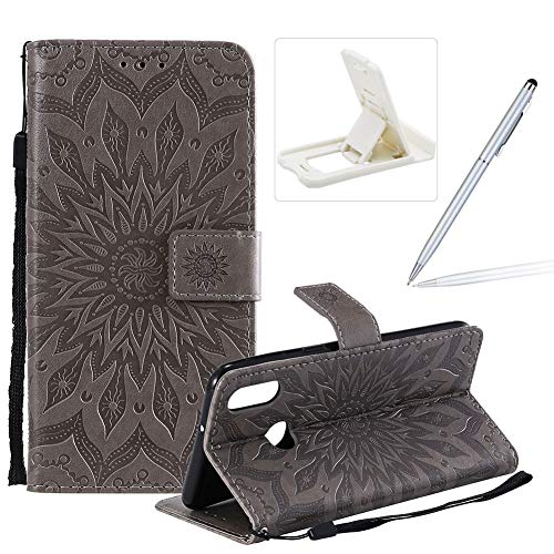 Best Price! Herzzer Wallet Case for Samsung Galaxy A10S,Strap Flip Case for Samsung Galaxy A10S, Ret...