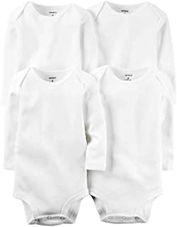 Carter's Baby Boys' White Multi-pk Bodysuits 126g388