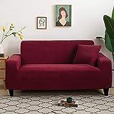 L.TSA Funda de sofá Protector Reversible de Funda de sofá, Tejido Grueso para Fundas de Sala de Estar Fundas de sillón en Forma de L-6_190-230cm, Funda de sofá en Forma de L Fundas de sofá