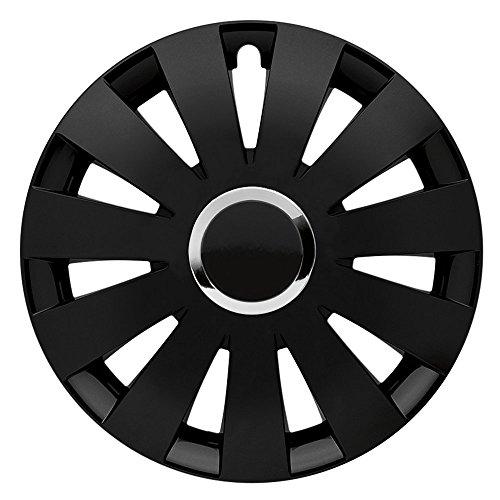 CM DESIGN Beat Black Plus–14Pulgadas, Apta para Casi Todas Las Peugeot, por Ejemplo para 307+ Sw