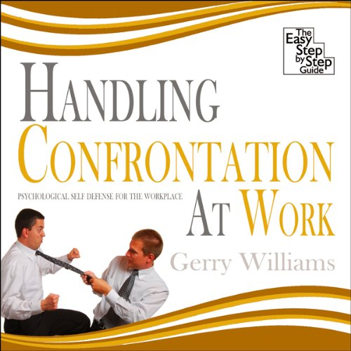 Handling Confrontation at Work audiobook cover art