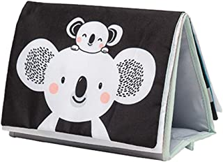 Taf Toys Koala Infant Tummy-time Soft Crinkle Activity Book with Huge Baby Safe Mirror, 3D Activities, Textures and a Soft Baby Teether