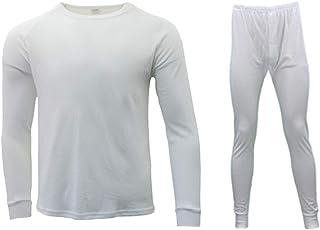 Fresh Idea Living 2pc Set Mens Womens Merino Wool Top Pants Thermal Leggings Long Johns Underwear