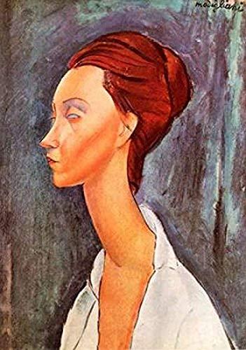 Posterazzi Lunia Czechowska 0 Poster Print by Amedeo Modigliani, (10 x 14)