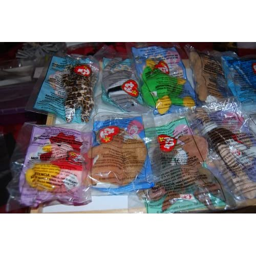 Ty Teenie Beanie 1999 McDonalds Happy Meal Toys Complete Set f3fa559684eb