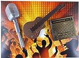 08#030621 Schokolade Musiker Set, Mikrofon, Gitarre, Verstärker, Geschenk, Geburtstag, Musiker, Tortendeko,