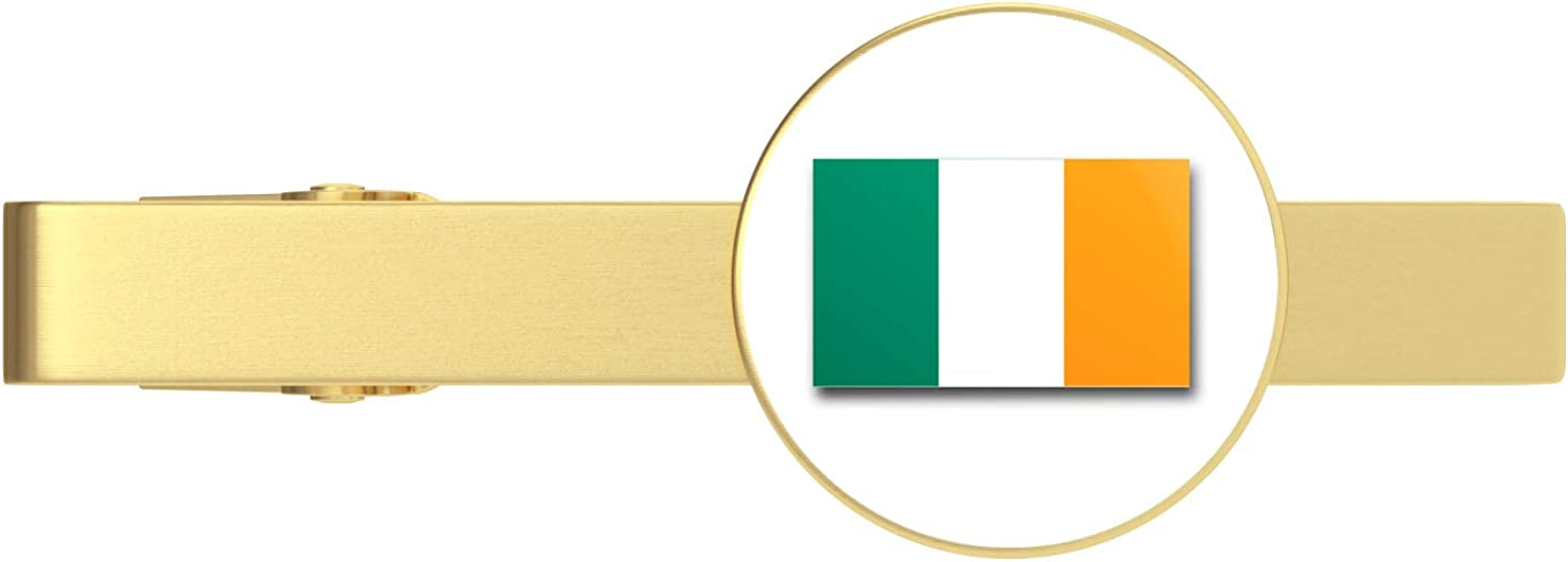 HOF Trading Ireland Flag Animer Max 88% OFF and price revision Military Veteran Clip Served T Tie Gold