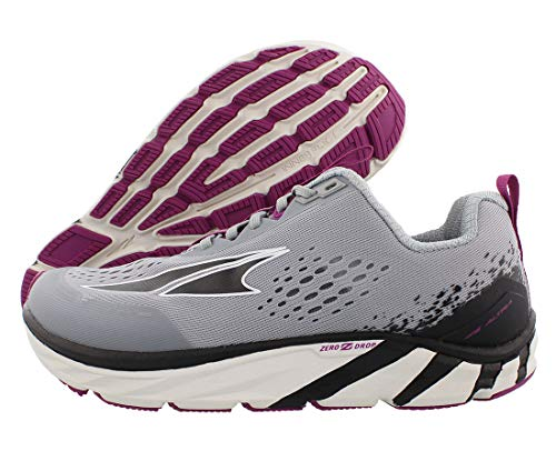 ALTRA Women's Torin 4 Road Running Shoe, Gray/Purple - 9 M US