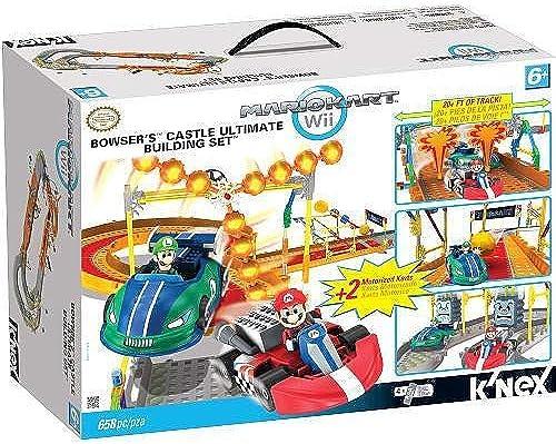 K'Nex - Mario Kart - Bowser's Castle Ultimate Building Set