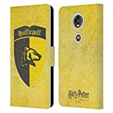 Head Case Designs Officiel Harry Potter Hufflepuff Crête Sorcerer's Stone I Coque en Cuir à...