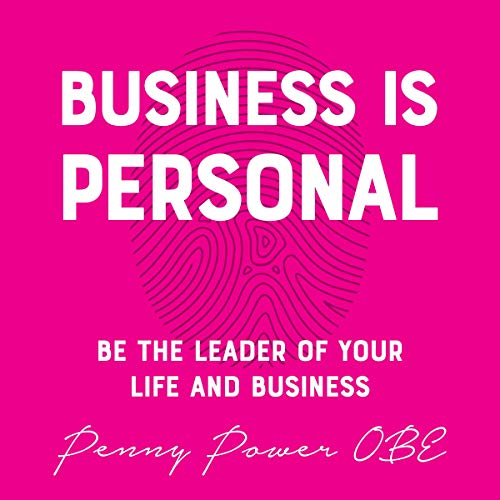 Business Is Personal audiobook cover art