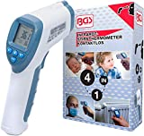 BGS 6006 | Thermomètre de fièvre de front | infrarouge, sans contact | pour bébé, enfant, adulte et d'objets | 0 - 100°