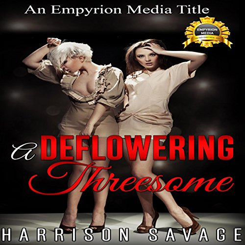A Deflowering Threesome audiobook cover art