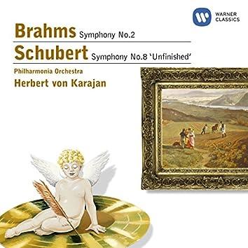 Brahms: Symphony No.2 & Schubert: Symphony No.8 'Unfinished'