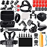 Now meet your different sporting needs with this cool set of mounts and accessories form your gopro hero 6 hero fusion gopro hero 5 hero session gopro hero 4 hero 3 hero 2 hero hd hero + sjcam sj4000 sj5000 sj6000 and other action cameras, allowing y...