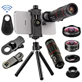 Best Iphone Lens Kits - 4 in 1 Cell Phone Camera Lenses Kit Review