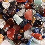 ZHAO Articoli da Regalo di Quarzo Naturale variopinta di Pietra di Cristallo della Roccia Chips I Campioni della Pietra del Quarzo Collezionismo Oggettistica for la casa