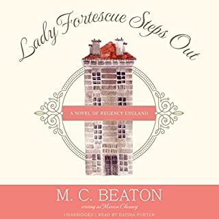 Lady Fortescue Steps Out cover art