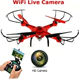 New SkyCo Q222K Rc Drone with Camera Live Video Quadcopter 4 Ch 2.4ghz...