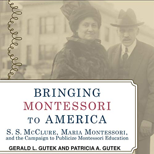 Page de couverture de Bringing Montessori to America