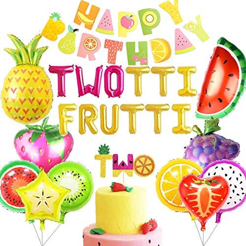 Tutti Frutti Birthday Decorations