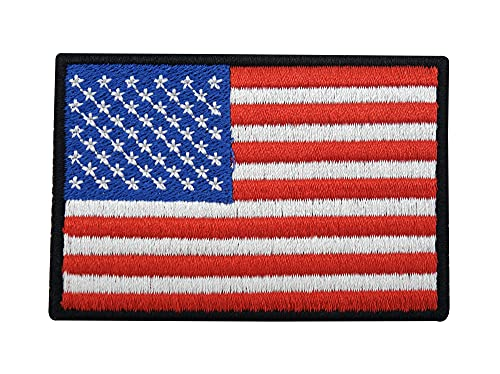 USA Amerika Patch mit Klett Rückseite   American Flag Klettpatches, US Army Military Patches, Airsoft Fahne Klettpatch Finally Home