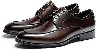 Rui Landed Fácil Cuidado de Punta Redonda Zapatos Oxford de Hombres Zapatos Formales Premium Cuero auténtico hasta Estilo ...