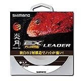 シマノ(SHIMANO) ショックリーダー 炎月 真鯛 EX フロロカーボン 2.5号~6.0号 30m クリアー CL-G26P 釣り糸