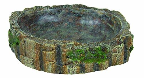 Trixie 76202 Wasser- und Futterschale für Reptilien, 13 × 3,5 × 11 cm