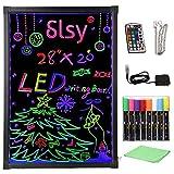 Slsy Illuminated LED Message Writing Board,...