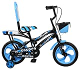 SpeedBird Cooper Blue Bicycles for Kid's - 3 to 4 Years Boys - Full Adjustable (Blue)