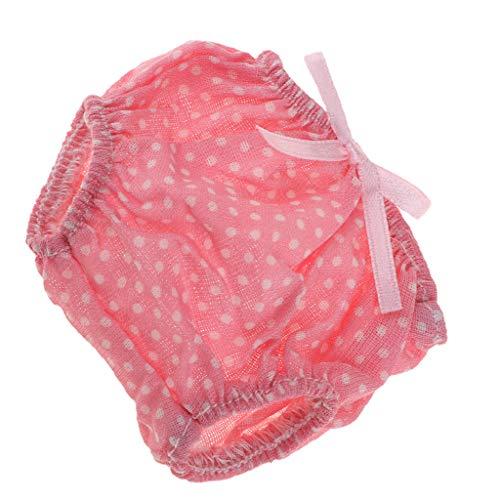 F Fityle Süße Puppe Unterhose Unterwäsche Outfit für Mellchan Babypuppe Kleidung Zubehör - Rosa