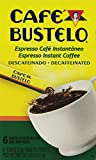 Bustelo Decaffeinated Instant Espresso Coffee 6 - 0.09 Oz Individual Packets Decaf (2 Pack)