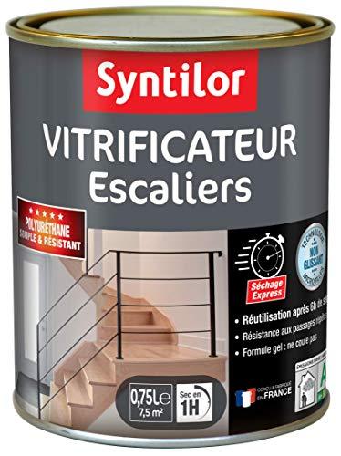Syntilor - Vitrificateur Escalier Incolore Mat 0.75L