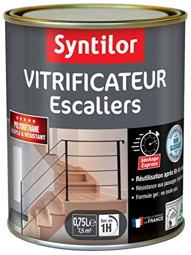 Syntilor - Vitrificateur Escaliers Incolore Satiné 0,75L