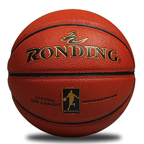 Best Deals! RONDING PU Standard Basketball Indoor Outdoor Men's Basketball Training Game Match