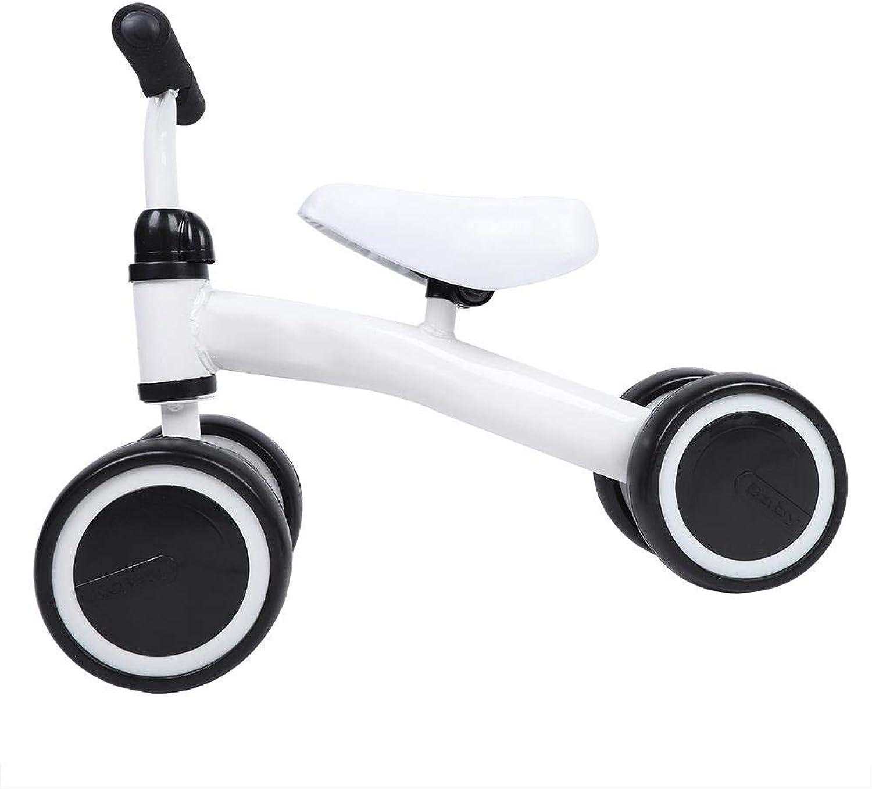 TBeste Balance bambino Bike Walker Bambini Quadriciclo Senza Pedali Balance Bambini Bikes auto for Infant Scooter Driving