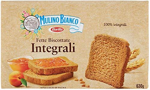 3x Mulino Bianco Fette Biscottate Volkoren 630 g Vollkorn Zwieback aus italien