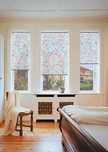 sundiscount Stoffmuster für Plissee nach Maß Simply Design/creativ 41981 Blumen