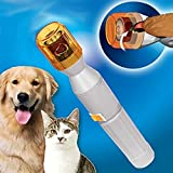 CxYuan 2018 Electric Pet Dog Cat Nail Pedicure Trimmer Grooming Care Grinder Clipper