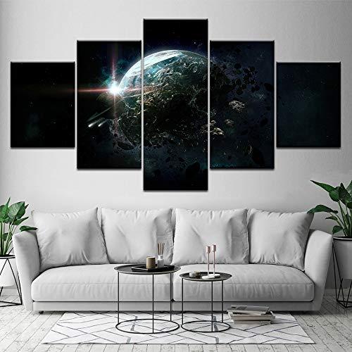 Abstract kunstzeildoek kunstenaar, woonzitje, decoratief modern Cuadros Decoracion, afbeelding van abstracte posters, platform L-30x40 30x60 30x80cm Geen lijst