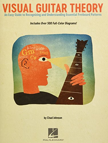 Chad Johnson: Visual Guitar Theory: Lehrmaterial für Gitarre: An Easy Guide to Recognizing and Understanding Essential Fretboard Patterns