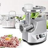 HAOT Picadora de Carne eléctrica, máquina de Salchichas con 3 Tablas de Cortar Pesadas para Picar Carne y Verduras y Rellenos caseros o Salsa de Chile