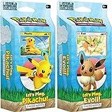 Lively Moments Pokémon Let's Play – Pikachu & Let's Play – Juego de cartas coleccionables en alemán